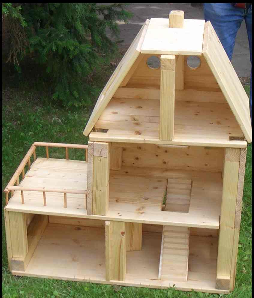 holzsachen vom puppenhaus. Black Bedroom Furniture Sets. Home Design Ideas